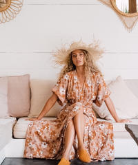 The Flower Child Maxi Dress
