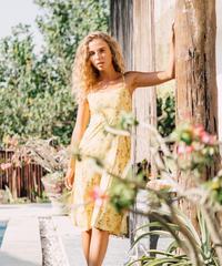 A Leaf of Faith Midi Dress