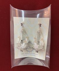 《Phantom Jewelry》シャンデリアのイヤリング(シルバー) 48