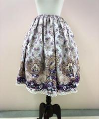 《アンシャンテリックアンシャンテリー》すみれ姫の王冠スカート