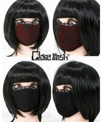 《QutieFrash》ファッションマスク〜蜘蛛メッシュ2Pset〜 7759-AC