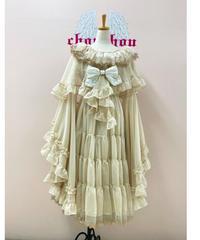 《Triple*fortune》リリウムドレス(ベージュ)4点セット