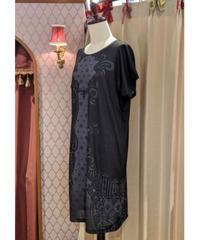 《アビエタージュ》Tシャツワンピース(black lace)