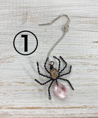 《silvia》蜘蛛アクセサリー(作家)
