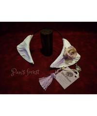 pan's forest  小狐耳 白紫 P-053