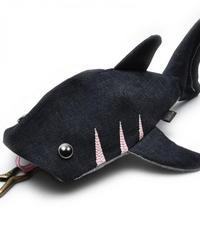 KASEI/カセイ 12ヶ月連続企画 3月のサメさん 生デニム6+ ステッチカラー桜色