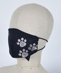h.NAOTO Cat footprint cat ear mask Wear