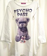 Amilige  Psycho Bear Zip BIG Tシャツ