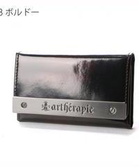 artherapie  230572 ATメタルプレートアドバン 二つ折 キーケース