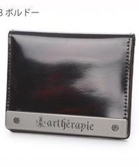 artherapie  230560 ATメタルプレートアドバン 二つ折りパスケース