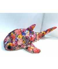 KASEI/カセイ 小サメ リュック     フェイクフラワー
