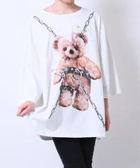 Amilige  Tied Bear BIG Tシャツ