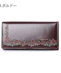 artherapie 230791 ローズリース かぶせがま口長財布