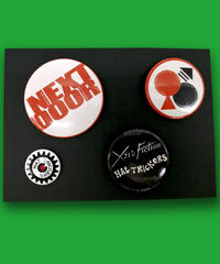 XERO FICTION×HAT TRICKERS『NEXT DOOR』BADGES SET-A