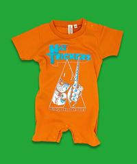 "『ZLEX』BABY ROMPERS""ORANGE"""