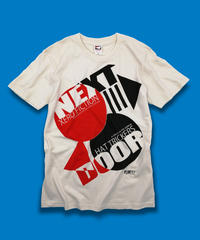 XERO FICTION×HAT TRICKERS『NEXT DOOR』T-SHIRT&BADGE