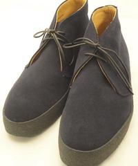 Sanders × UW / Mud Guard Chukka Boots / Navy