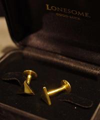LONESOME / Tetra Classic  Cufflinks / Brass