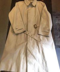 Gekko Rainwear  / Off White Rain Coat / Secondhand /  Size44 / Made in England