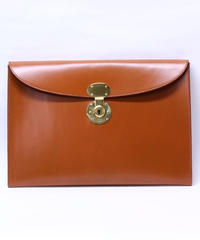Rutherfords / Folio Case with 806 Lock / Ginger Nut