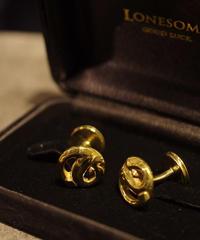 LONESOME / R.S Cufflinks / Brass