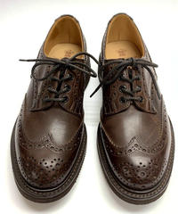 19.67 Rejected Tricker's / Brown / Country Brogue Shoes / Gumlite W Sole / Size 8