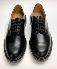 19.33 Rejected Tricker's / Black / Cap Country Shoes / Dainite W  Sole / Size 8