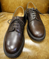 18.72 Rejected Tricker's / Brown / Plain Toe Shoes / Dainite W Sole / Size 6h