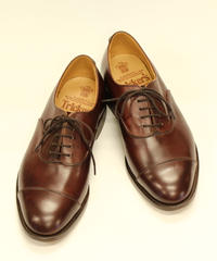 18.88 Rejected Tricker's / Brown / Cap Toe Shoes / Leather Sole / Size 6 half