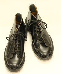 18.57 Rejected Tricker's / Black / Monkey Middle Boots / Leather W Sole / Size 6
