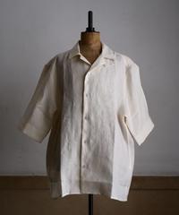 James Mortimer / Linen Open Collar Shirts