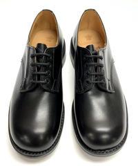19.42 Rejected Tricker's / Black / Plain Toe Derby / Dainite W Sole / Size 8