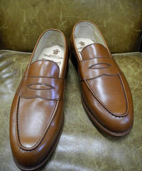 18.39 Rejected Tricker's / Brown / Loafers / Leather Sole / Size 6 half