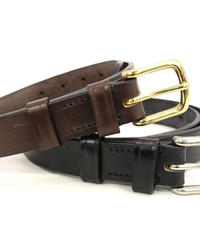 Martin Faizey × UW / Saddle Leather Belt / 1.0 inch