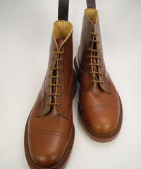 Tricker's × UW / Imitation Cap Country Boots / Marron Antique
