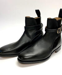 19.68 Rejected Tricker's / Black / Jodhpur Boots / Leather Sole / Size 8