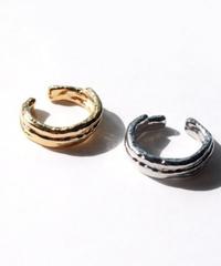 【日本製】METAL EAR CUFF & RING -2way-