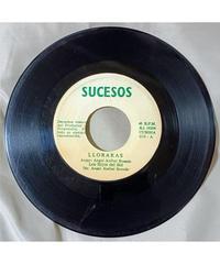 レコード// 7インチ // ペルー // Los Hijos Del Sol - Lloraras