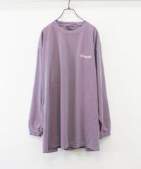 ワンポイントロゴ ロングスリーブTシャツ【UNISEX】