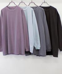ヴィンテージダイ ロングスリーブTシャツ【UNISEX】