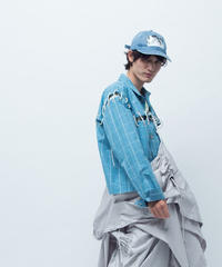 LACEUP JK / blue