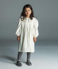 PINTUCK &EMBROIDEDERY DRESS  KIDS
