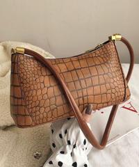 Crocodile Shoulder Bag/クロコダイルショルダーバッグ