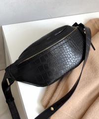 Crocodile Body Bag/クロコダイルボディバッグ