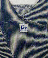 1950s 【Lee】 Hickory  stripe  overall