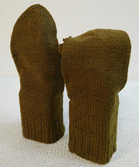 Vintage  American red cross   MITTEN GLOVE