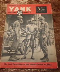 【 YANK   THE ARMY WEEKLY 】1944.   DEC.  3
