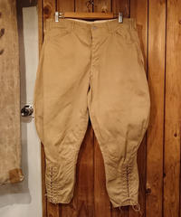 【 1930s  U.S.ARMY 】Joppers Pants.
