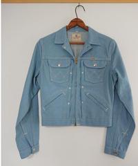 【 1960s  Wrangler 】  Collar denim jacket