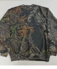 【 JERZEES  Outdoors 】 Real tree camouflage   Sweatshirt